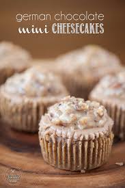 german chocolate mini cheesecakes self proclaimed foodie