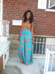 styled by kalack african print maxi dress