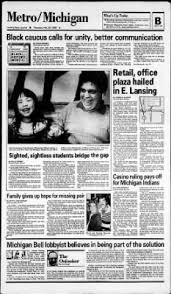 Lansing State Journal Home State Journal From Lansing Michigan On February 26 1987 Page 11