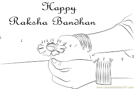rakhi coloring pages colouring pages for raksha bandhan raksha bandhan free coloring