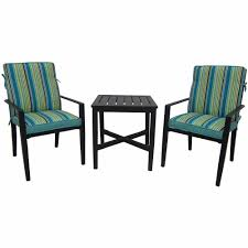 Mainstays Crossman 7 Piece Patio Dining Set Green Seats 6 - mainstays rockview 3 piece outdoor bistro set black seats 2
