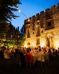 outdoor wedding reception ideas outdoor wedding lighting ideas from real celebrations martha