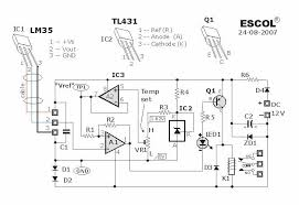 temperature activated light switch temperature controlled relay circuit