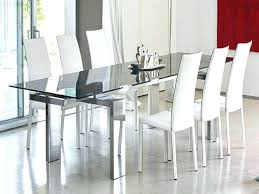 Rectangle Glass Dining Room Tables Extendable Glass Dining Room Table Expandable Glass Dining Room