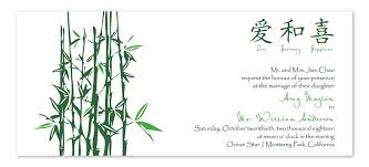 wedding invitation symbols bamboo symbols wedding invitations by invitation consultants