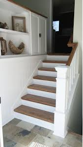 the best ideas about split level remodel pinterest diy split entry remodel added storage planking tie the wall and cabinets together