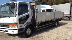 mitsubishi trucks 1990 kc fk728j mitsubishi fuso flat body 5 31051 youtube