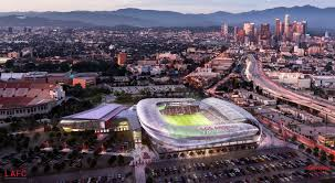 expansion l a soccer team plans new stadium on sports arena site