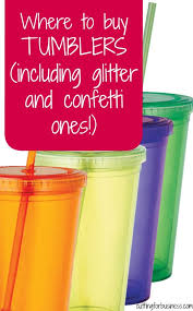 where to buy tumblers for silhouette or cricut crafting cricut