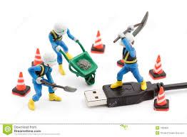 Laptop Repair Technician Computer Repair Concept Stock Images Image 24503644