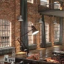 loft home decor brick designs inspiration brick look apartment loft home