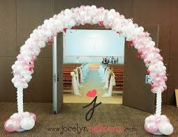 wedding arch balloons 4 creative wedding balloon decorations for you to choose from