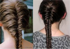plait at back of head hairstyle how to french fishtail braid youtube