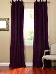 Blackout Purple Curtains Purple Drapes Or Curtains Blackout Drape Custom Made Eyelet Pencil