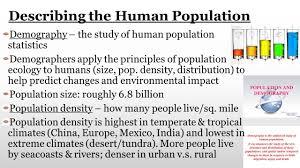unit 8 human population 8a u2013 trends u0026 predictions 8b u2013 people