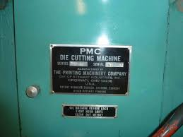 die cutters used finishing machines pmc ram punch