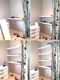 floating picture shelves office makeover floating shelves u0026 more storage pepper