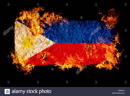 Phippines Flag National Symbols And Flag Of Philippines Stock Photo Royalty Free