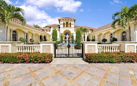 mediterranean style mansions 12 000 square foot mediterranean style mansion in palm