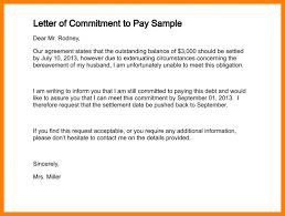5 agreement letter for payment target cashier