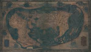 Rit Map Uncovering Hidden Text On A 500 Year Old Map That Guided Columbus