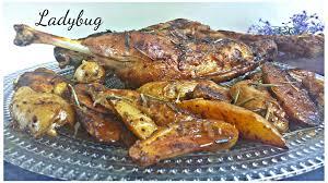 cuisine cuisse de dinde cuisse de dinde rôtie au paprika et aux herbes ma dévorante