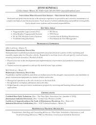 electrician resume exles resume for electrical technician cv exle for electrical