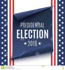 presidential election 2016 background stock vector image 74901780