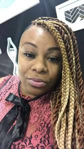hairstyles for turning 30 honey blonde box braids with fire red accent braids turning heads