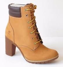 womens boots timberland style timberland s tillston 6 inch high heel wheat leather boots