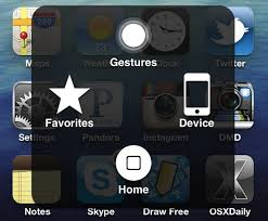 Iphone 5 Symbols On Top Bar Deal With A Broken Iphone Home Button By Enabling Assistive Touch