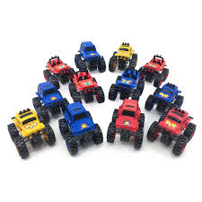 grave digger monster truck costume amazon com boley monster trucks toy 12 pack assorted large
