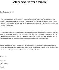 28 salary cover letter cover letter example with salary
