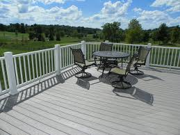 sussex azek composite decks with white azek trademark railing system