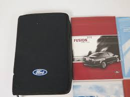 amazon com 2010 ford fusion owner u0027s manual ford automotive