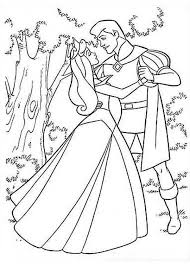 sleeping beauty coloring pages aurora and phillip coloringstar