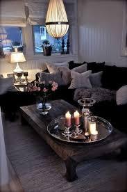 Living Home Decor Ideas Best 25 Black Couch Decor Ideas On Pinterest Black Sofa Big