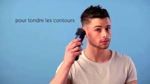 comment couper cheveux garã on tondeuse tuto coupe homme side swept avec dégradé
