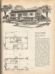 vintage house plans mid century homes architecture pinterest
