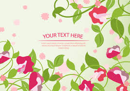 Sweet Pea Images Flower - sweet pea flower background template download free vector art
