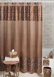 Brown Waffle Weave Shower Curtain by Macy U0027s Fabric Shower Curtains U2022 Shower Curtain Ideas