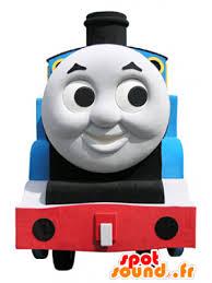 thomas mascot famous toy train cartoon spotsound