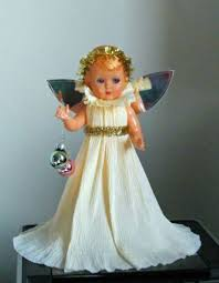 Christmas Decorations Fairy Tree Topper by 162 Best Vintage Christmas Tree Fairy Dolls Images On Pinterest