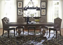 double pedestal dining room table liberty furniture lucca double pedestal dining table top u0026 reviews