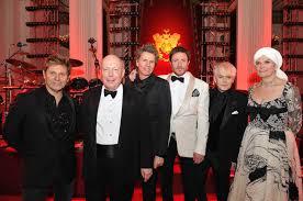 Hutch Holiday Gala Downton Creator Julian Fellowes Joins Duran Duran At Buckingham