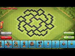 coc layout builder th8 clash of clans epic th8 farming base speed build with 4 mortars