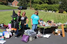 Garage Sale Organizers - newcomers u0027 annual town wide garage sale is a big hit news tapinto