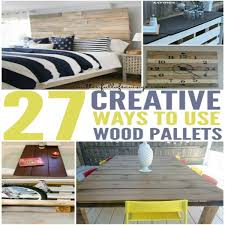 diy outdoor dining table from wood pallets this worthey life