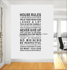 wall stickers home rules color the walls of your house wall stickers home rules stickers 120 60cm art wall sticker house rules vinyl