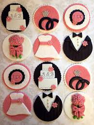 bridal cupcakes 12 bridal shower cupcake toppers wedding fondant